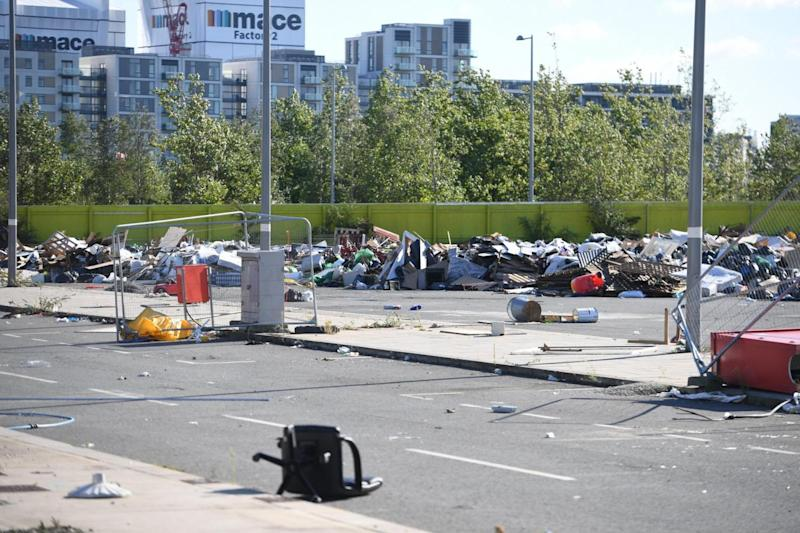 The developer who owns the site will have to pay to clear the rubbish (Jeremy Selwyn)