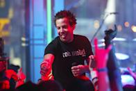 <p>Simple Plan took the stage on <b>TRL</b> for a 2003 episode.</p>