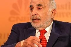 Carl Icahn says he's taken a position in Apple