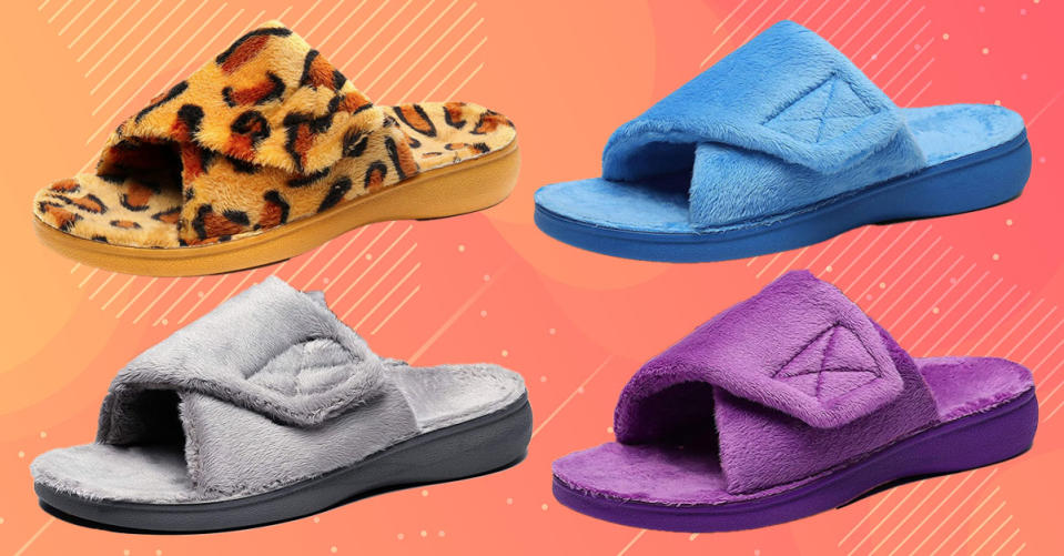Cute, comfy and ultra supportive for anyone with heel or arch pain. (Photo: Amazon)