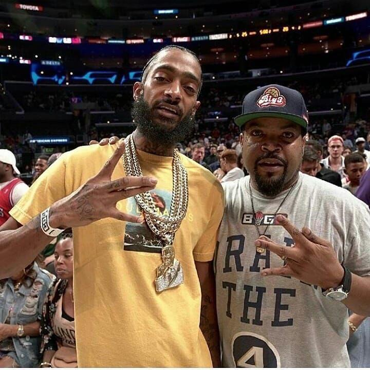 """<p>Nipsey Hussle's death has shaken the hip-hop community to its core and tributes are continuing to pour in from star's closest friends. It's been nearly three days since his senseless slaying and prominent A-listers are still reeling his untimely death. Stars like Ashanti, T.I., Ice Cube and Future took time to gather their thoughts before sharing […]</p> <p>The post <a rel=""""nofollow noopener"""" href=""""https://theblast.com/nipsey-hussle-celebrity-reactions-tributes/"""" target=""""_blank"""" data-ylk=""""slk:Nipsey Hussle Tributes Continue to Pour in from Celebrity Friends Following Death"""" class=""""link rapid-noclick-resp"""">Nipsey Hussle Tributes Continue to Pour in from Celebrity Friends Following Death</a> appeared first on <a rel=""""nofollow noopener"""" href=""""https://theblast.com"""" target=""""_blank"""" data-ylk=""""slk:The Blast"""" class=""""link rapid-noclick-resp"""">The Blast</a>.</p>"""