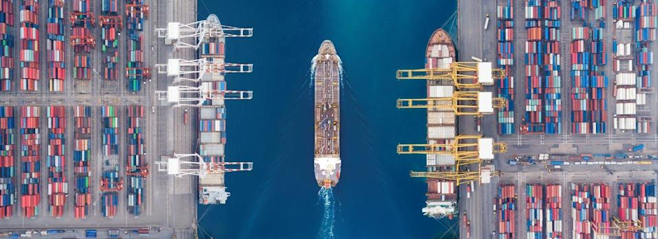 """<span class=""""caption"""">Growth in the port industry is expected to continue, and will intensify the adverse environmental effects on marine ecosystems and coastal communities.</span> <span class=""""attribution""""><span class=""""source"""">(Shutterstock)</span></span>"""