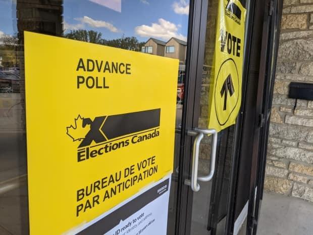 Advance polling stations for the Canadian federal election opened on Friday morning.  (Dayne Patterson/CBC - image credit)