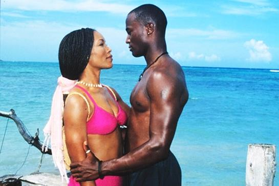 """<em><strong><h3>How Stella Got Her Groove Back</h3></strong></em><h3> (1998)<br></h3> Angela Bassett and Taye Diggs gave us all too high of expectations for what shower sex could be.<br><br><span class=""""copyright"""">Photo: Courtesy of 20th Century Fox.</span>"""