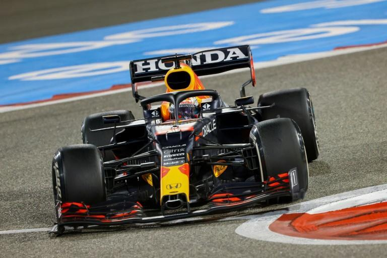 Close to the line: Max Verstappen over-stepped the boundaries once too often in Bahrain