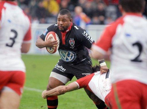 Toulon's Steffon Armitage, pictured in 2011