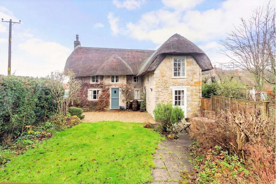 """<p>This quintessential period cottage has heaps of character throughout, including the gorgeous bedrooms, living room, wooden beams and crackling fireplace. It really is incredibly picture-perfect. </p><p><a href=""""https://www.zoopla.co.uk/for-sale/details/57482188"""" rel=""""nofollow noopener"""" target=""""_blank"""" data-ylk=""""slk:This property is currently on the market for £495,000 with Rural View via Zoopla"""" class=""""link rapid-noclick-resp"""">This property is currently on the market for £495,000 with Rural View via Zoopla</a>. </p>"""