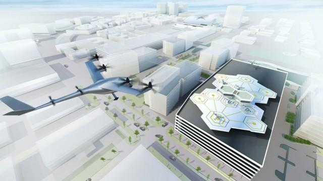 We just got our first glimpse of Uber's vision for flying taxis