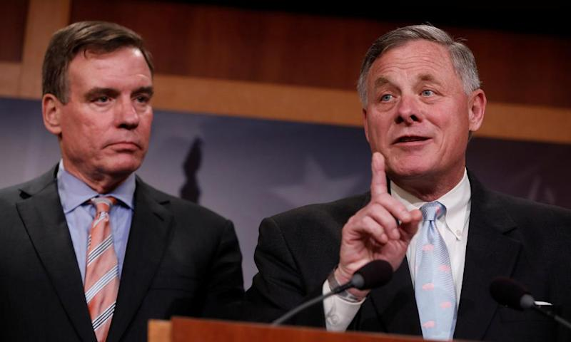 The bipartisan display between Mark Warner and Richard Burr was notably different from the ongoing strife at the House intelligence committee.