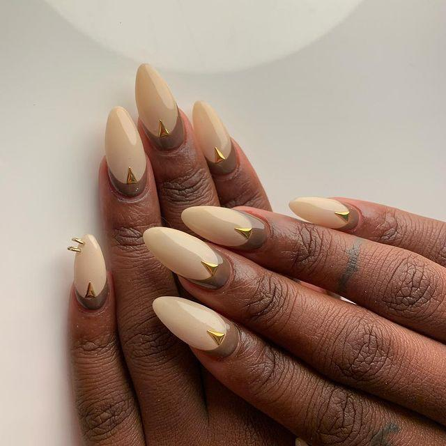 """<p>Not wearing a white gown? This cream mani will compliment everything from cream to gold. </p><p><a href=""""https://www.instagram.com/p/BrdzMcshhfh/"""" rel=""""nofollow noopener"""" target=""""_blank"""" data-ylk=""""slk:See the original post on Instagram"""" class=""""link rapid-noclick-resp"""">See the original post on Instagram</a></p>"""