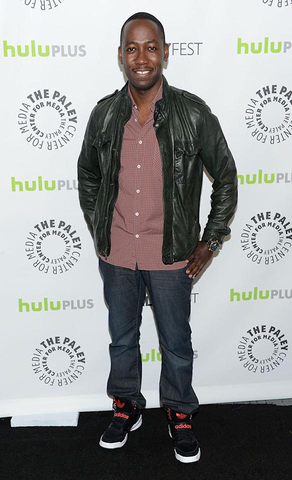 "Lamorne Morris attends the 30th Annual PaleyFest featuring the cast of ""New Girl"" at Saban Theatre on March 11, 2013 in Beverly Hills, California."