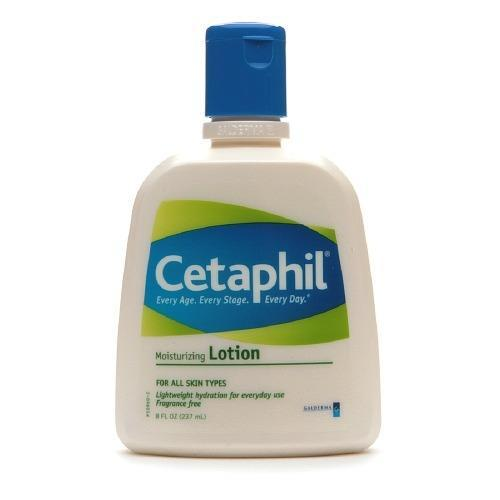"""<p>Don't shell out a lot here, says Engelman. """"There are great inexpensive moisturizers with good basic ingredients — like <a href=""""http://www.drugstore.com/cetaphil-moisturizing-lotion-fragrance-free/qxp72805?catid=182945"""" rel=""""nofollow noopener"""" target=""""_blank"""" data-ylk=""""slk:Cetaphil"""" class=""""link rapid-noclick-resp"""">Cetaphil</a> ($8 pictured left) and <a href=""""http://www.drugstore.com/products/prod.asp?pid=182183&catid=290045&aid=338666&aparam=182183&kpid=182183&CAWELAID=120142990000035641&CAGPSPN=plax"""" rel=""""nofollow noopener"""" target=""""_blank"""" data-ylk=""""slk:Dove"""" class=""""link rapid-noclick-resp"""">Dove</a> ($7),"""" she recommends. """"If your skin is not particularly dry, you can combine your sunscreen with your moisturizer."""" If you are planning to splurge on a moisturizing product, Engelman says, it should be on an anti-aging cream with ingredients like retinol to fight fine lines and wrinkles, as well as peptides, vitamins C and E. Try formulas like <a href=""""http://www.sephora.com/the-method-nourish-P399743?skuId=1747815"""" rel=""""nofollow noopener"""" target=""""_blank"""" data-ylk=""""slk:Lancer"""" class=""""link rapid-noclick-resp"""">Lancer</a> ($125) and <a href=""""http://shop.nordstrom.com/s/creme-de-la-mer-moisturizing-cream/3057002"""" rel=""""nofollow noopener"""" target=""""_blank"""" data-ylk=""""slk:Creme de la Mer"""" class=""""link rapid-noclick-resp"""">Creme de la Mer</a> ($85). </p>"""