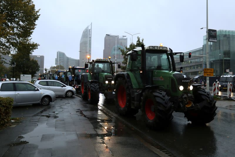 Dutch police detain about 50 farmers protesting over pollution rules