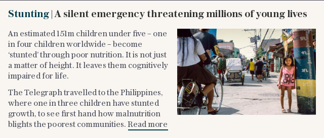 Stunting | A silent emergency threatening millions of young lives