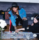 <p>Then utter babe bad gal RiRi wore the SAME jacket, but no one really battered an eye lid because you know, she's #EDGY. [Photo: Rihanna/ Instagram] </p>