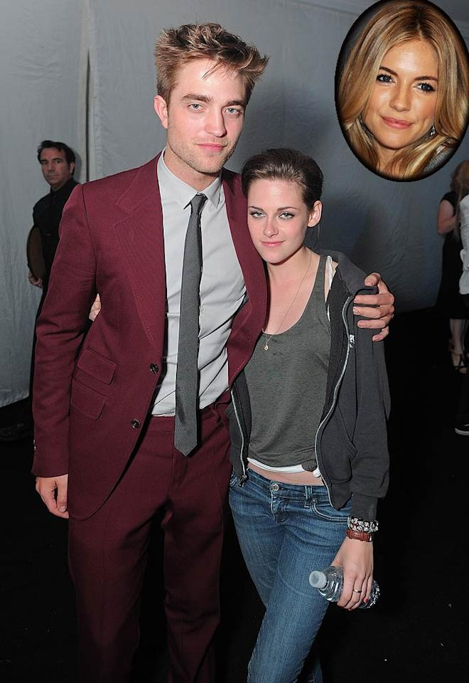 "Kristen Stewart was NOT happy after Sienna Miller was seen emerging from boyfriend Robert Pattinson's London hotel in the wee hours. Stewart ""suspects the worst -- and she's not putting up with it,"" reports <i>Star</i>. In fact, the ""Twilight"" actress had ""a tearful fight with Rob during a transatlantic phone call"" in which she asked what he was doing with Miller. For the full scoop about Pattinson and Miller's late-night rendezvous and why Stewart's now ""furious,"" click over to <a href=""http://www.gossipcop.com/robert-pattinson-sienna-miller-tom-sturridge-london-hotel-kristen-stewart/"" target=""new"">Gossip Cop</a>. Jordan Strauss/<a href=""http://www.wireimage.com"" target=""new"">WireImage.com</a> - June 24, 2010"