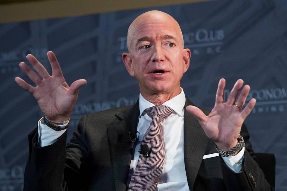 """Jeff Bezos, Amazon founder and CEO, is the focal point of """"Amazon Unbound,"""" a new book by Brad Stone about the e-commerce giant. The book reveals Raleigh was among three finalists for a second Amazon heaquarters, or HQ2, in 2018."""