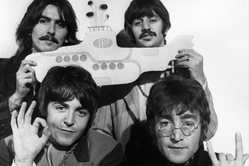 <p>The biography not only touches on the familiar tales of John, Paul, George, and Ringo, but also weaves in the stories of those they met along the way</p> (PA)