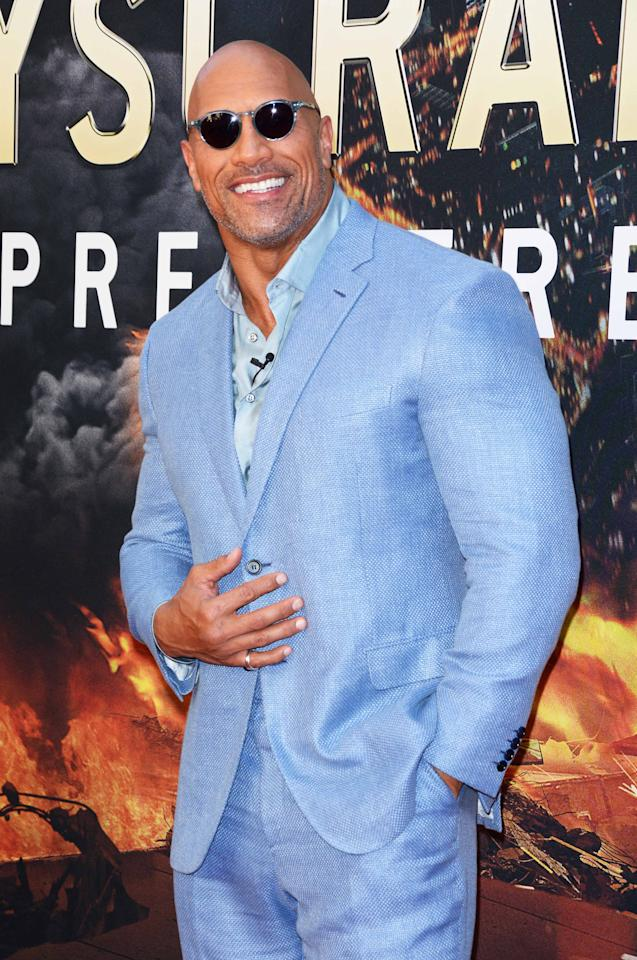 <p>Dwayne Johnson: $124m </p>