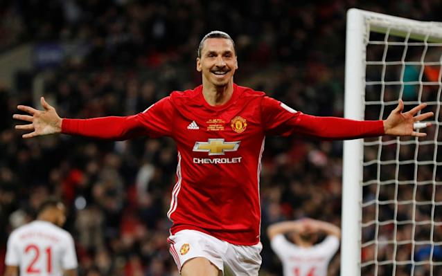 Zlatan Ibrahimovic says he is in talks with United about his future - Reuters