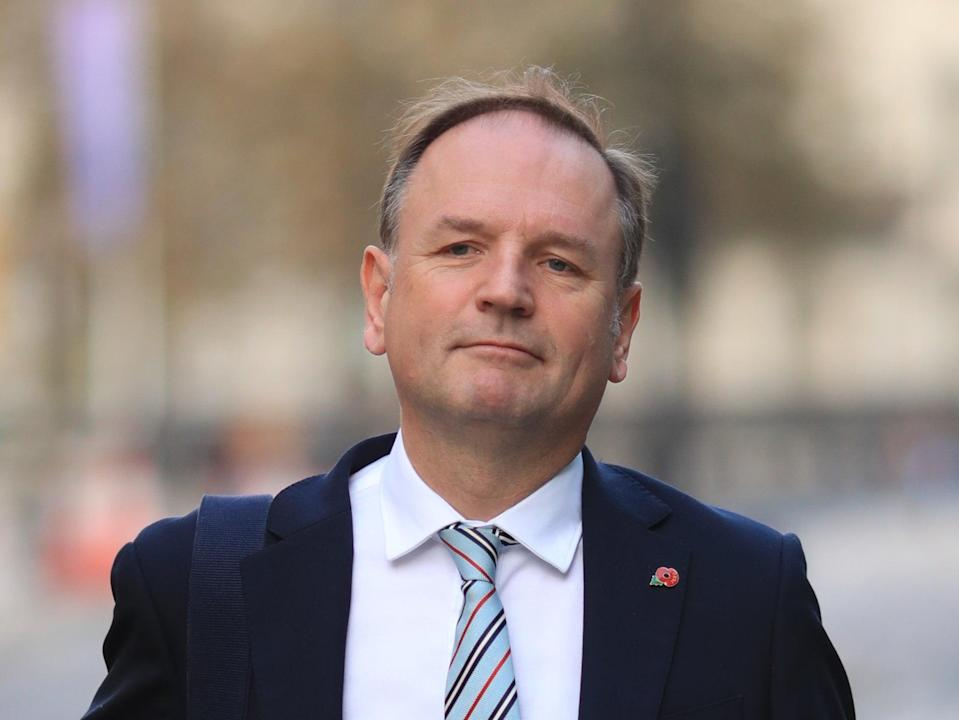 Sir Simon Stevens is due to step down from his role as NHS England chief executive next month (PA)