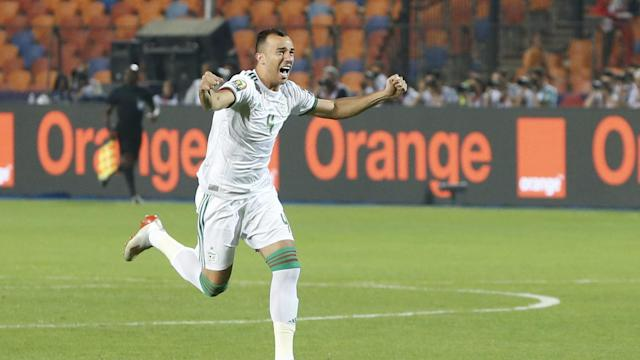 A deflected second-minute goal proved enough for Algeria to lift the trophy in Cairo.