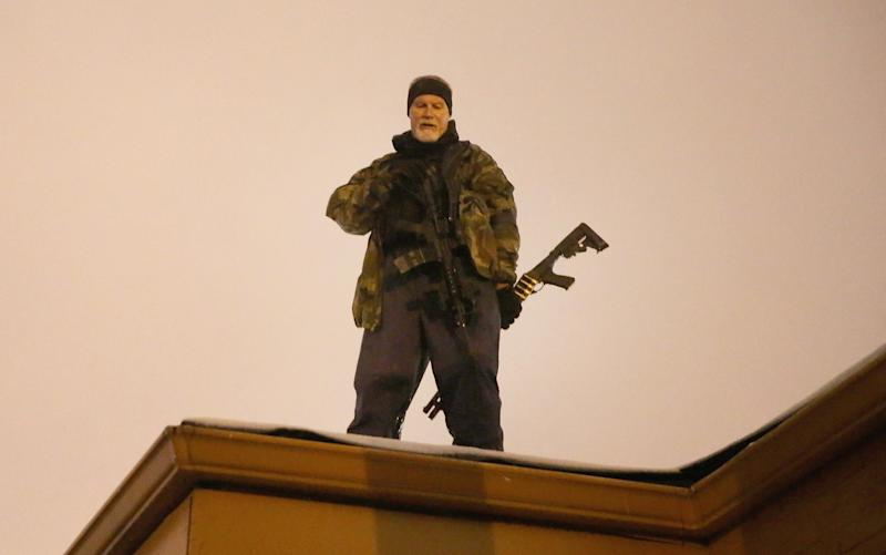 Ferguson Faces Unrest And Destruction As Thanksgiving Holiday Approaches