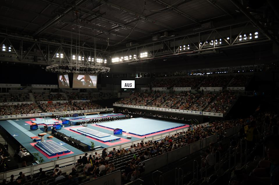 With travel restrictions in place, the Chinese gymnastics team will not be able to travel to Melbourne for the annual competition next week.