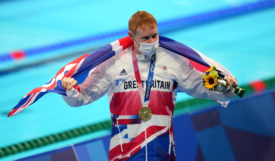 Tom Dean is a double Olympic champion (Joe Giddens/PA) (PA Wire)