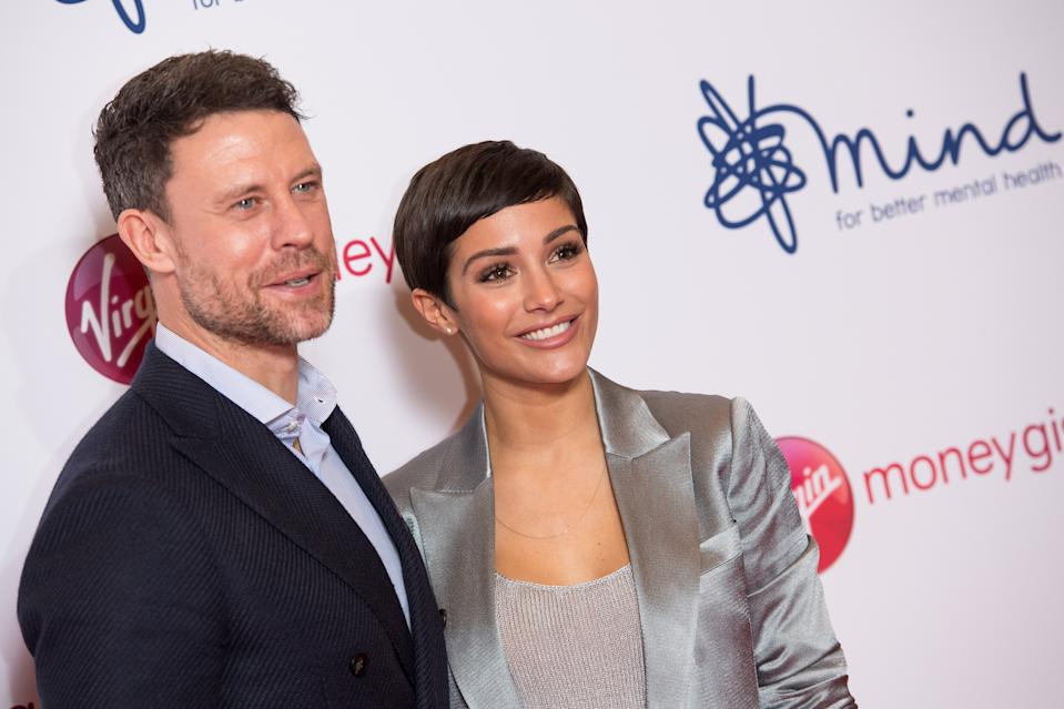 LONDON, ENGLAND - NOVEMBER 29: (L-R) Wayne Bridge and Frankie Bridge attend the Virgin Money Giving Mind Media Awards 2018 at Queen Elizabeth Hall on November 29, 2018 in London, England. (Photo by Jeff Spicer/Getty Images)