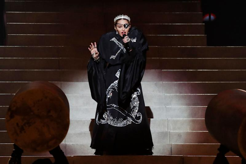 Madonna stuns in a pirate outfit as she renders a beautiful performance
