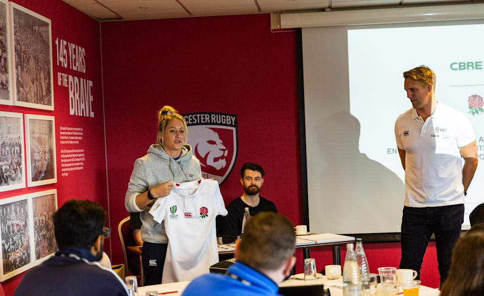 Hunt was speaking at the CBRE All Schools Programme day at Kingsholm