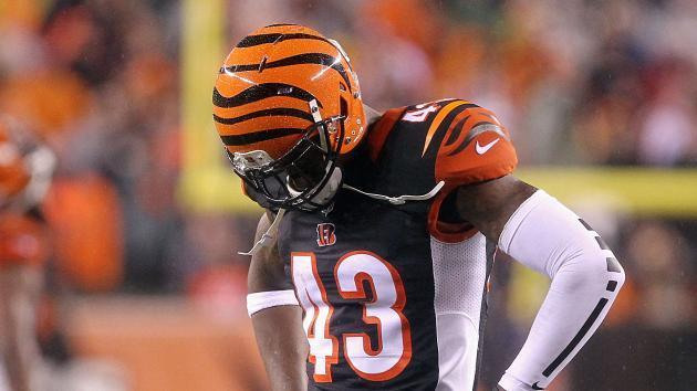 <p>Bengals safety George Iloka's one-game suspension reduced to fine</p>
