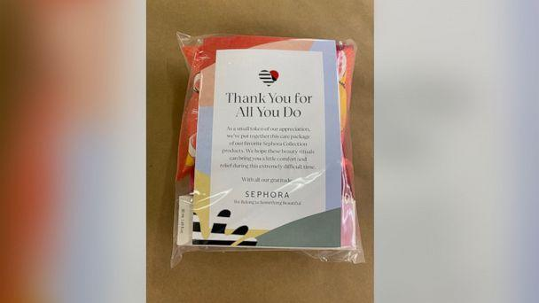 PHOTO: Sephora is donating 65,000 beauty packages to front line healthcare workers. (Sephora)