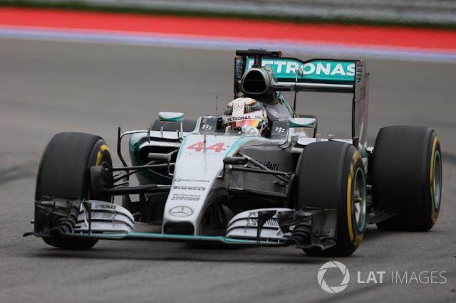 "Mercedes AMG F1 W06 (2015) <span class=""copyright"">Sutton Motorsport Images</span>"