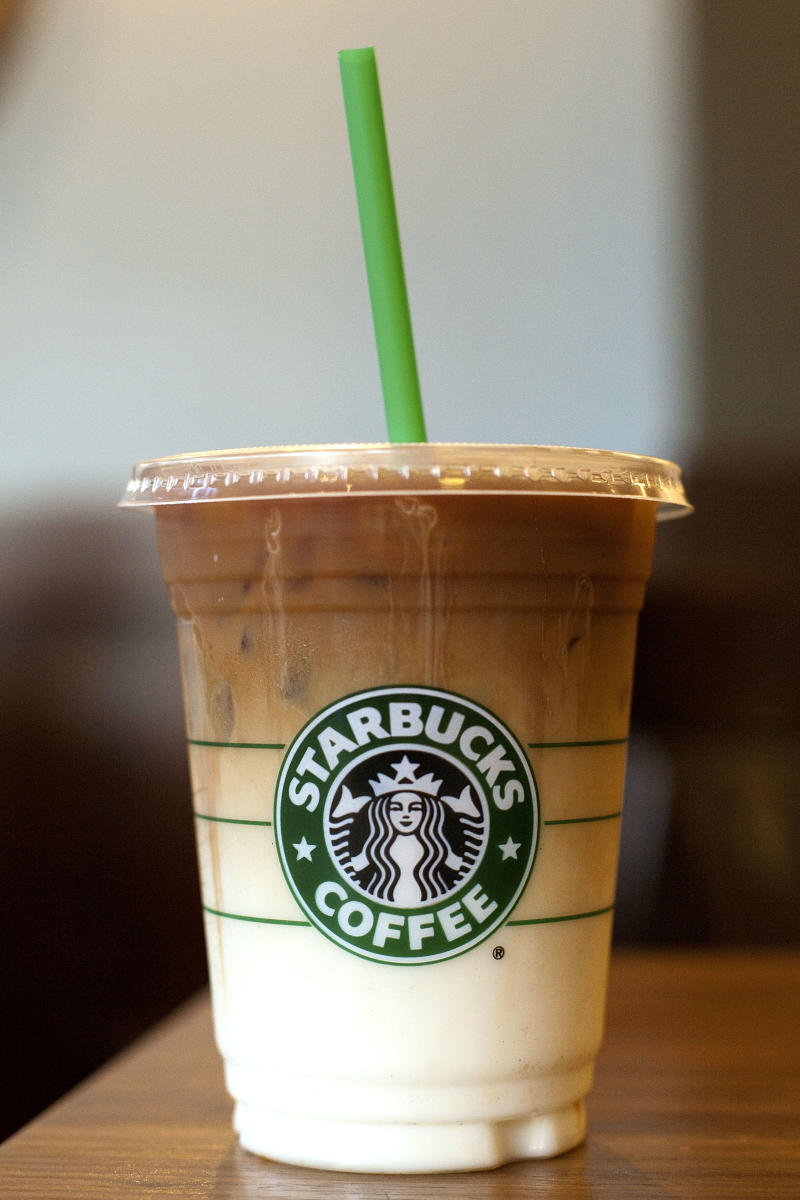 Starbucks Iced Coffee is suing starbucks because its iced coffee has too much… ice
