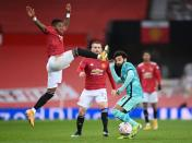 FA Cup - Fourth Round - Manchester United v Liverpool