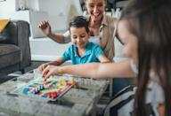 <p>If Mom is a little on the competitive side, she's sure to enjoy a board game. Get the entire family involved and try your hand at more than one game. You can even keep score on paper, a dry erase board, or a chalk board and assign the loser dish-duty or another chore to really up the ante.</p>