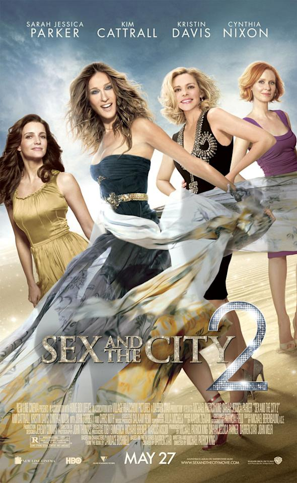 """The Worst:  <a href=""""http://movies.yahoo.com/movie/1810111276/info"""">SEX AND THE CITY 2</a>    Kim Cattrall -- is that you?"""