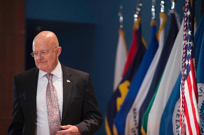 """Director of National Intelligence James Clapper said last month that Beijing was """"the leading suspect"""" behind the massive breach (AFP Photo/Jim Watson)"""