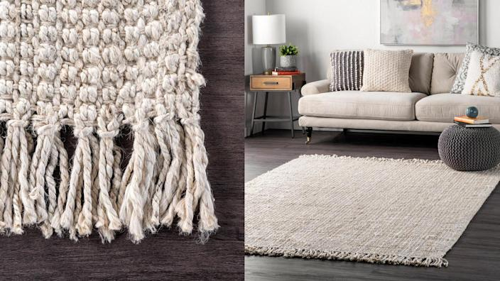 Find a range of rug styles at Home Depot.