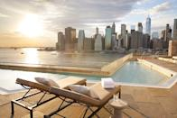 """<p>Probably the best <a href=""""https://www.1hotels.com/brooklyn-bridge/discover/rooftop-pool"""" rel=""""nofollow noopener"""" target=""""_blank"""" data-ylk=""""slk:rooftop pool"""" class=""""link rapid-noclick-resp"""">rooftop pool</a> in the city, with Manhattan skyline views, handcrafted cocktails on tap and comfy loungers.</p>"""