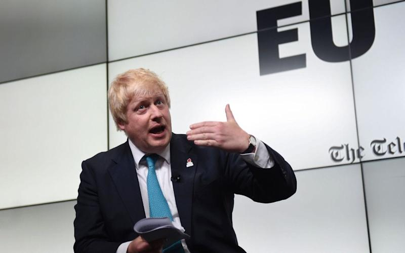 Boris Johnson - Credit: DAVID ROSE/AFP