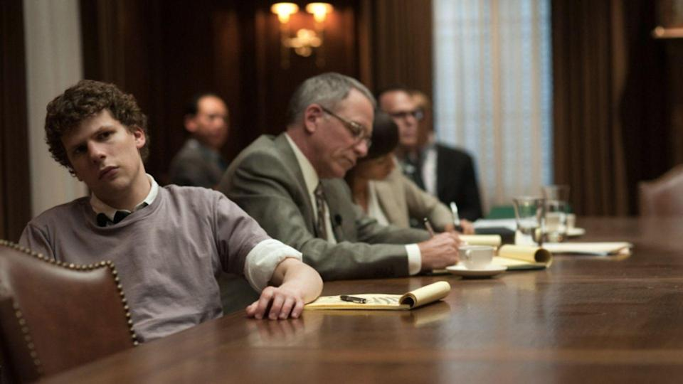A still from The Social Network