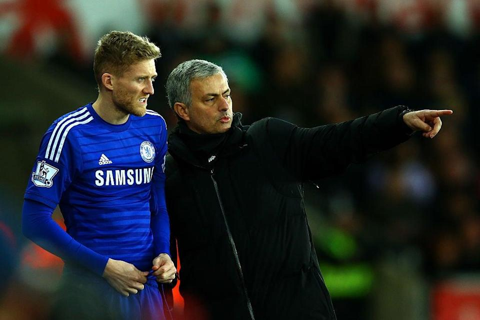 Schurrle at Chelsea with Mourinho (Getty Images)