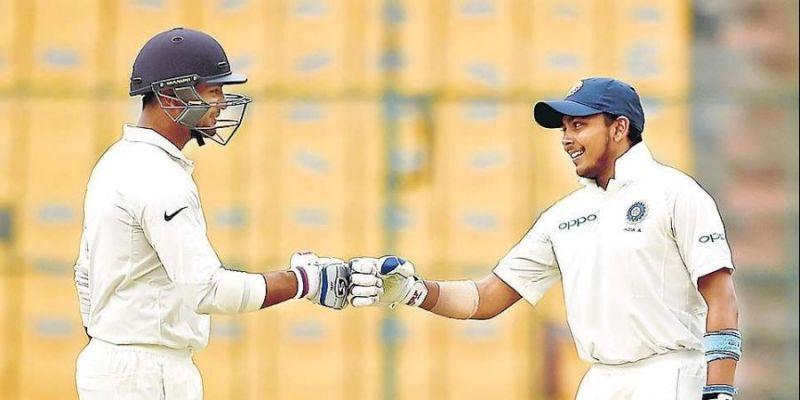 Mayank Agarwal and Prithvi Shaw are the finds of the year