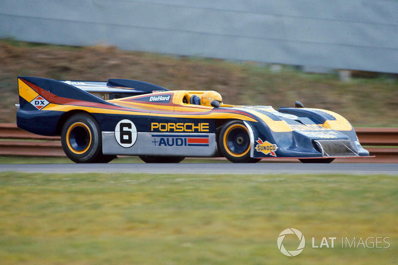 "Speaking of awesome combos, Donohue in the 1100hp Porsche 917/30 redefined domination. <span class=""copyright"">Motorsport Images</span>"
