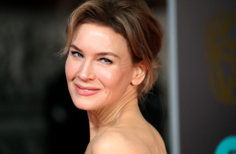 LONDON, ENGLAND - FEBRUARY 02: Renee Zellweger attends the EE British Academy Film Awards 2020 at Royal Albert Hall on February 02, 2020 in London, England. (Photo by Mike Marsland/WireImage )