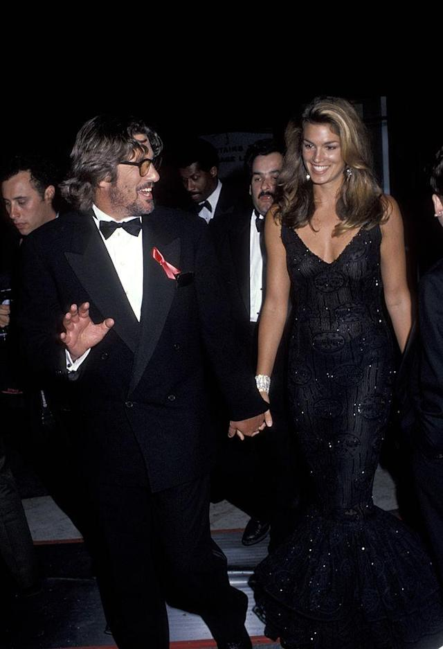 Richard Gere and Cindy Crawford. (Photo: Ron Galella, Ltd./WireImage)