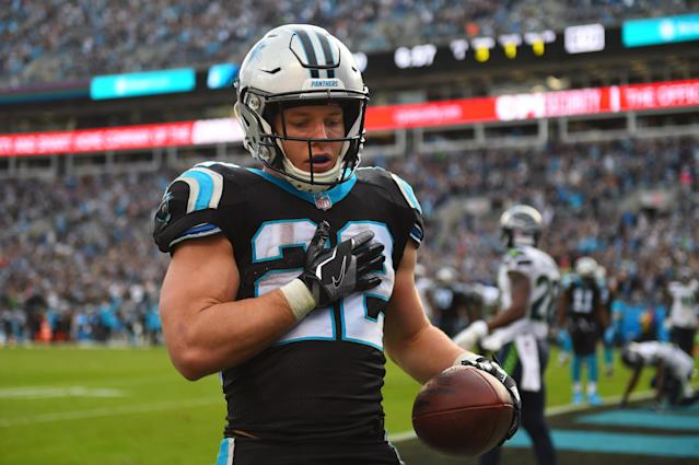 Christian McCaffrey will be important to Carolina's chances of winning in Cleveland
